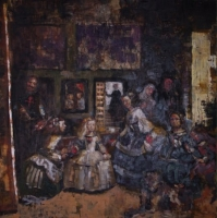 Private Talk to Diego - from Las Meninas by Velazquez