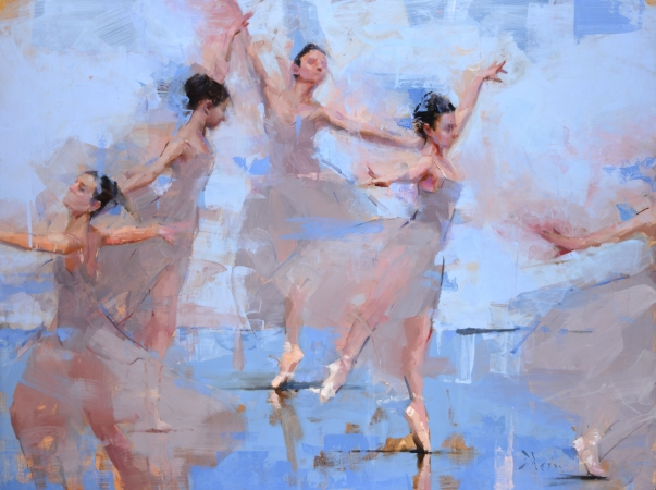 Dancers in Motion II