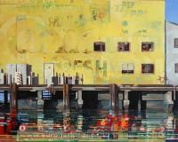 Yellow Pier 48x60 - Copy